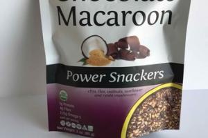 CHOCOLATE MACAROON POWER SNACKERS