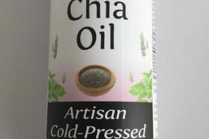 ORGANIC ARTISAN COLD-PRESSED CHIA OIL