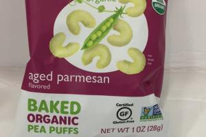 Baked Organic Pea Puffs
