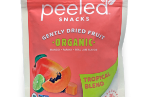TROPICAL BLEND ORGANIC GENTLY DRIED FRUIT