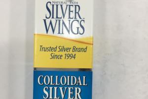 Colloidal Silver Olive Leaf Spray Immune Support Dietary Supplement