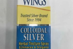 COLLOIDAL SILVER HERBAL TINCTURE SPRAY DIETARY SUPPLEMENT