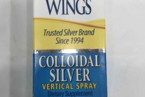 COLLOIDAL SILVER VERTICAL SPRAY DIETARY SUPPLEMENT
