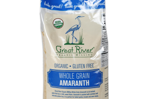 ORGANIC GLUTEN FREE WHOLE GRAIN AMARANTH