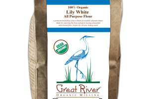 100% ORGANIC LILY WHITE ALL PURPOSE FLOUR