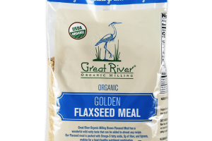 ORGANIC GOLDEN FLAXSEED MEAL