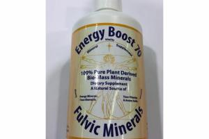 ENERGY BOOST 70 FULVIC MINERALS DIETARY SUPPLEMENT