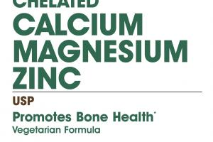 Chelated Calcium Magnesium Zinc Usp Dietary Supplement