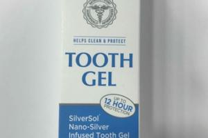 TOOTH GEL, GLACIAL MINT