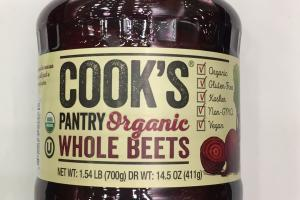 Pantry Organic Whole Beets