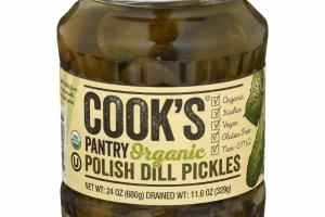POLISH DILL PICKLES