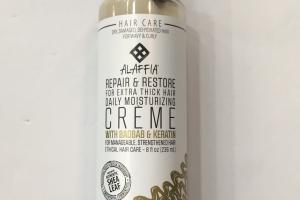 Hair Care Creme With Baobab & Keratin