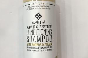 Repair & Restore Conditioning Shampoo With Baobab & Argan