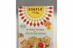 SPROUTED SEED CRACKERS