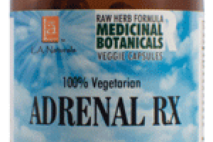 100% VEGETARIAN ADRENAL RX DIETARY SUPPLEMENT VEGGIE CAPSULES