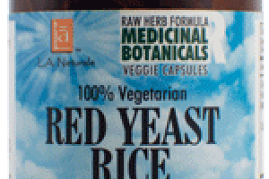100% VEGETARIAN RED YEAST RICE WITH COQ10 DIETARY SUPPLEMENT VEGGIE CAPSULES