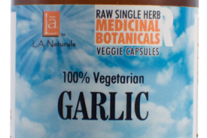 100% VEGETARIAN GARLIC DIETARY SUPPLEMENT VEGGIE CAPSULES
