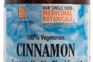 100% VEGETARIAN CINNAMON SUPPORTS HEALTHY BLOOD SUGAR DIETARY SUPPLEMENT LIQUID VEGGIE CAPS