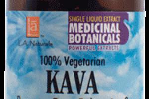100% VEGETARIAN KAVA DIETARY SUPPLEMENT LIQUID VEGGIE CAPS