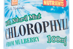CHLOROPHYLL WITH NATURAL MINT FROM MULBERRY 100MG SUPPORTS HEALTHY BLOOD CLEES DIETARY SUPPLEMENT
