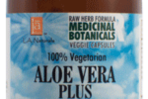100% VEGETARIAN ALOE VERA PLUS DIETARY SUPPLEMENT VEGGIE CAPSULES