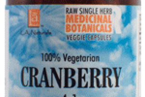 100% VEGETARIAN CRANBERRY 4:1 DIETARY SUPPLEMENT VEGGIE CAPSULES