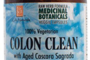 100% VEGETARIAN COLON CLEAN WITH AGED CASCARA SAGRADA DIETARY SUPPLEMENT VEGGIE CAPS