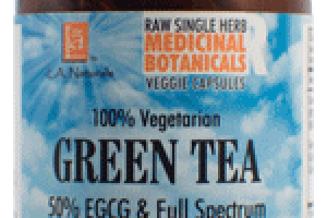 100% VEGETARIAN GREEN TEA 50% EGCG & FULL SPECTRUM DIETARY SUPPLEMENT VEGGIE CAPSULES