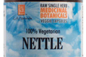 100% VEGETARIAN NETTLE DIETARY SUPPLEMENT VEGGIE CAPSULES
