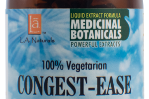 100% VEGETARIAN CONGEST-EASE DIETARY SUPPLEMENT LIQUID VEGGIE CAPS