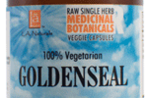 100% VEGETARIAN GOLDENSEAL DIETARY SUPPLEMENT VEGGIE CAPSULES
