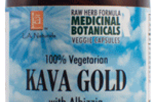 100% VEGETARIAN KAVA GOLD WITH ALBIZZIA DIETARY SUPPLEMENT VEGGIE CAPSULES