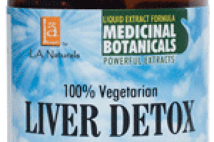 100% VEGETARIAN LIVER DETOX WITH MILK THISTLE 80% DIETARY SUPPLEMENT LIQUID VEGGIE CAPS