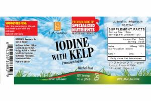 ALCOHOL FREE IODINE WITH KELP POTASSIUM IODIDE DIETARY SUPPLEMENT
