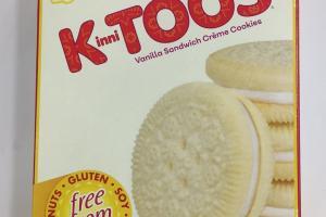 Vanilla Sandwich Creme Cookies
