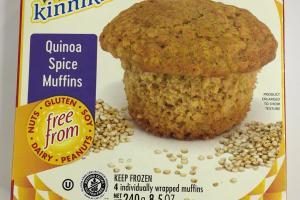 Quinoa Spice Muffins