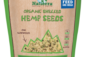 Plant-based Organic Shelled Hemp Seeds