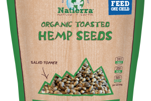 Plant-based Organic Toasted Hemp Seeds