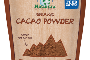 Plant-based Organic Cacao Powder
