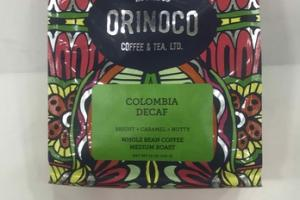 BRIGHT + CARAMEL + NUTTY MEDIUM ROAST WHOLE BEAN COLOMBIA DECAF COFFEE