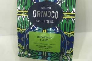 MEDIUM ROAST BREAKFAST BLEND WHOLE BEAN COFFEE