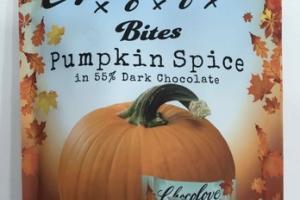 PUMPKIN SPICE DARK CHOCOLATE BITES