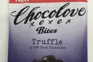 TRUFFLE IN 55% DARK CHOCOLATE BITES