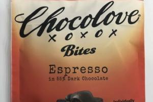 ESPRESSO IN 55% DARK CHOCOLATE BITES