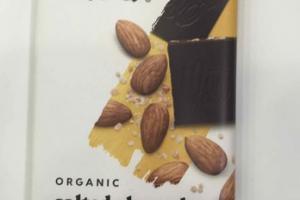 ORGANIC SALTED ALMOND 70% DARK CHOCOLATE