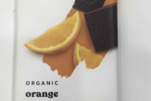 ORGANIC ORANGE 70% DARK CHOCOLATE