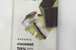 ORGANIC COCONUT 70% DARK CHOCOLATE