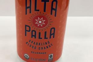 Sparkling Blood Orange Beverage