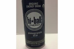 POMEGRANATE ACAI ORGANIC ENERGY DRINK JUICE