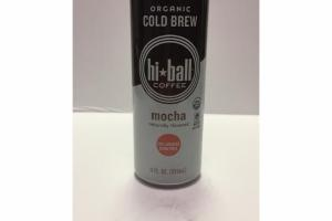 MOCHA ORGANIC COLD BREW COFFEE